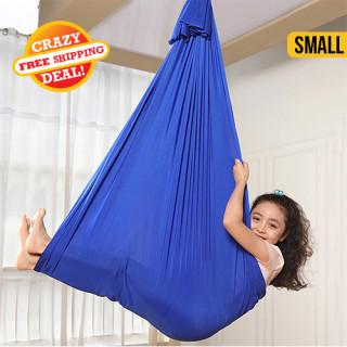 Children's Sensory Yoga Hammock Blue