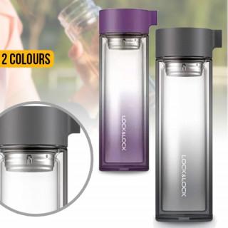 Lock & Lock Glass Water Bottle