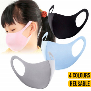 Kid Reusable Fabric Face Masks