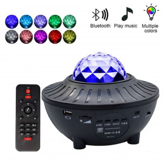 USB LED Colorful Starry Sky Night Projector