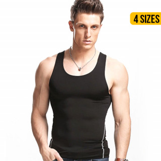 Men's Body Shaper Workout Tank Top