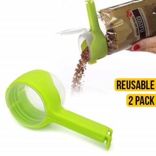 Reusable Seal & Pour Bag Clip