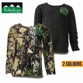 Ridgeline Kids Long Sleeved Bush Shirt