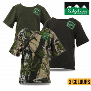 Ridgeline Kids Short Sleeved Bush Shirt
