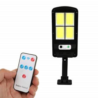PIR Motion Sensor Outdoor Solar Lamp & Remote Control