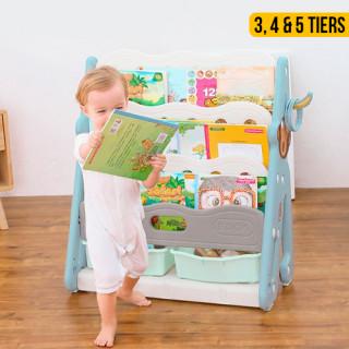Kids Book Shelf Display Storage Rack