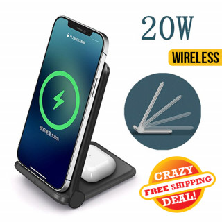 Two-in-one Wireless Charger Stand