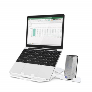 360 Degree Rotating Bottom Height Adjustment Laptop Stand