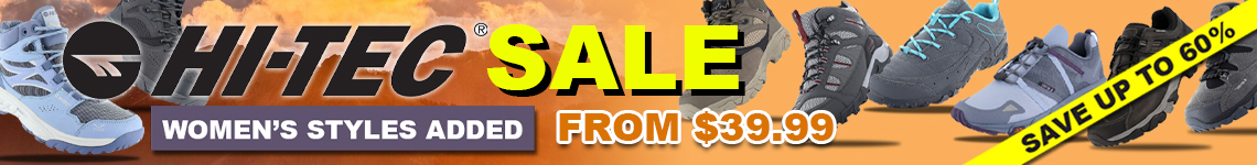 Hi-Tec Shoe Sale - WOMENS Styles Added - Save up to 60%